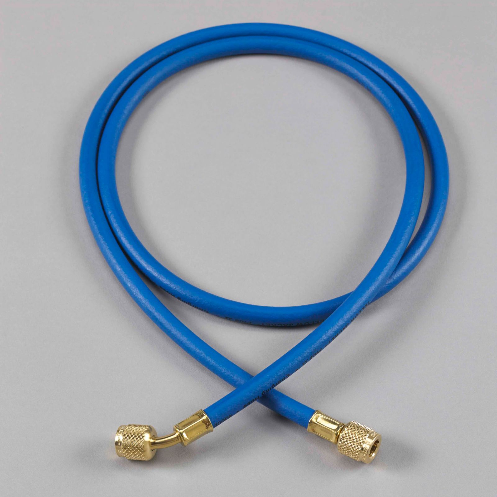 "Yellow Jacket 21236 - 36"" Blue Hose HAV Standard Fitting Plus II 1/4"" Charging Hose"