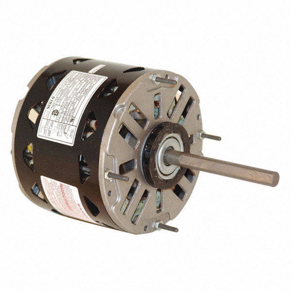 CENTURY 1/3 HP Direct Drive Blower Motor, Permanent Split Capacitor, 1075 Nameplate RPM, 115 Voltage