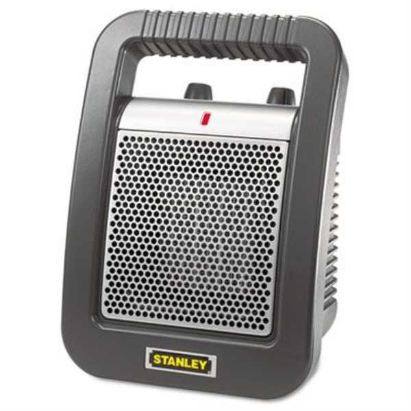 Lasko 675945 Stanley Portable Ceramic Space Heater - Black