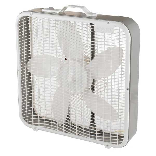 Aerospeed BX100 Box Fan, 20', 3-Speed