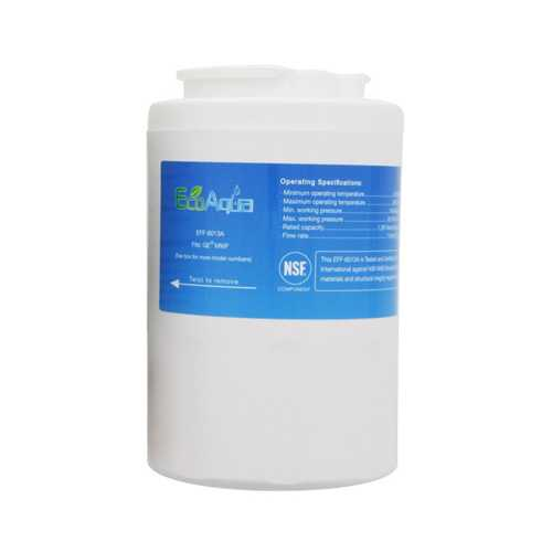 EcoAqua Replacement Water Filter Cartridge for GE CNS23SSHSS / PCF23MGSBBB Refrigerator Models