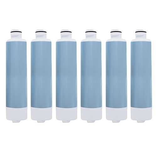 Aqua Fresh Replacement Water Filter f/ Samsung RH22H8010SR/AA / RFG296HDRS Refrigerator Model 6 Pk