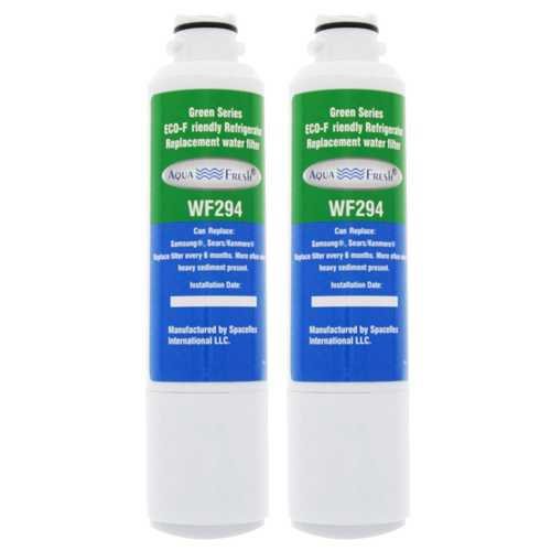 AquaFresh Replacement Water Filter for Samsung RS25H5121WW Refrigerator Model (2 Pack)