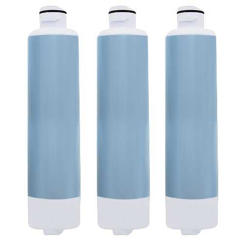 Aqua Fresh Replacement Water Filter f/ Samsung RS25H5000BC/AA Refrigerator Model 3 Pk
