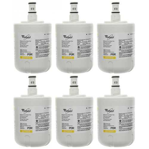 Original Whirlpool Water Filter 8171413 (6-Pack) Refrigerator Water Filter-Original