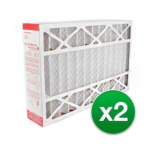 Replacement Pleated Air Filter for for Honeywell 12.5x20x5 MERV 11 (2-Pack)