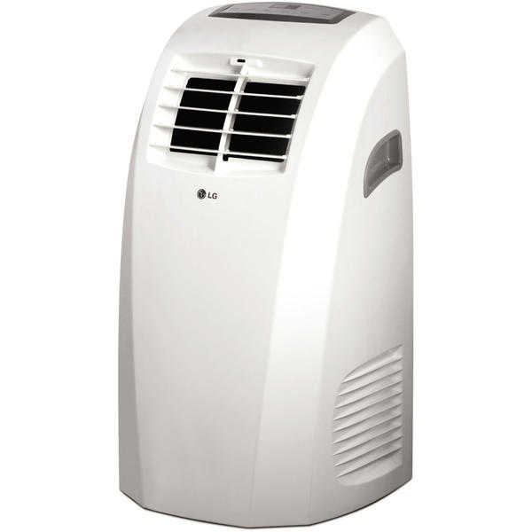 LG LP1014WNR 10,000 BTU 115V Portable Air Conditioner with Remote Control - White