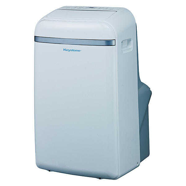 Keystone KSTAP12B 12,000 BTU 115V Portable Air Conditioner with 'Follow Me' LCD Remote Control
