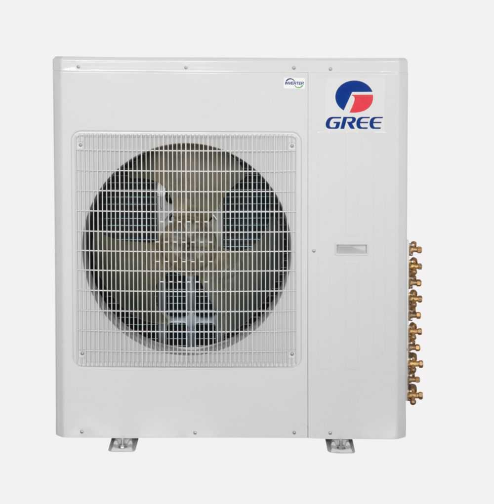 Gree Terra MULTI42CTERRA405 -42,000 BTU Multi21+ Quad-Zone Wall Mount Mini Split Air Conditioner Heat Pump 208-230V (9-12-12-12)