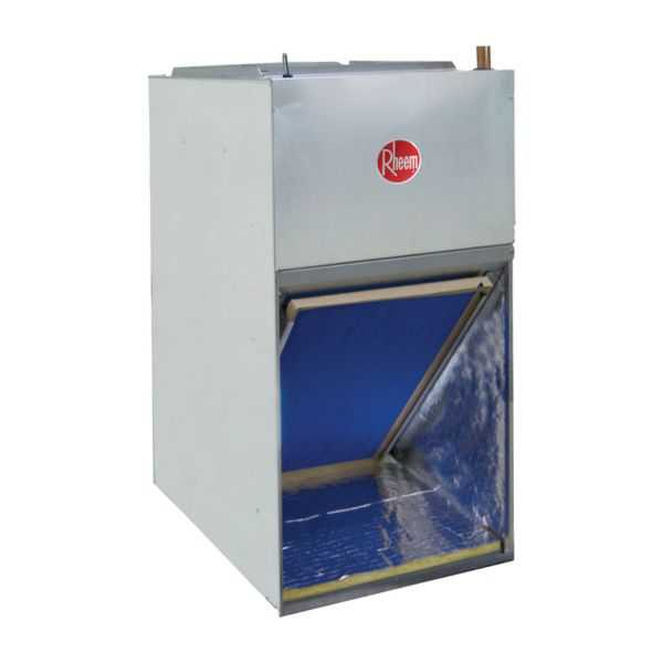 Rheem RF1T2421MTANJAB08417 - 2 Ton, Front Return Aluminum Coil Air Handler, Constant Torque Motor, 8 kW Heater, Float Switch