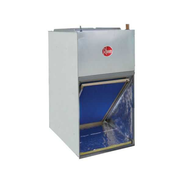 Rheem RF1T3624MTANJAB10417 - 3 Ton, Front Return Aluminum Coil Air Handler, Constant Torque Motor, 10 kW Heater, Float Switch