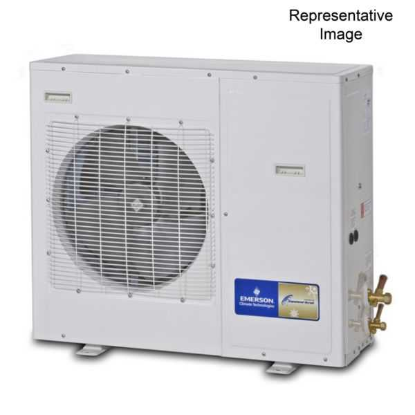 Emerson Climate - XJAM-030Z-CFV-022 - 3 HP, Refrigeration Condensing Unit, 208/230-1