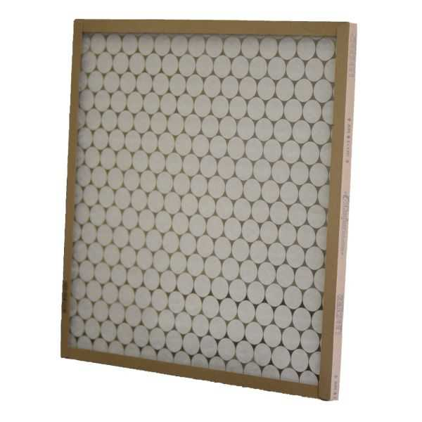 Glasfloss GTASP30301 - Custom Fiberglass Heavy-Duty Disposable Panel Filter, 30' X 30' X 1'
