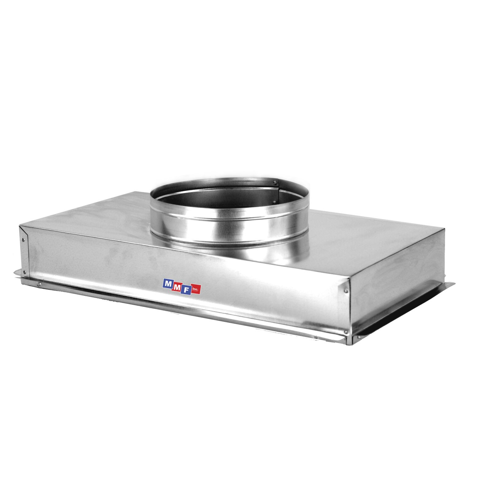 "Modular Metal ACRH3020H - Return Air Can - 28 Ga - Uninsulated With Plaster Ground Flange 30 1/4"" X 20 1/4"" No Collar-6"" High"
