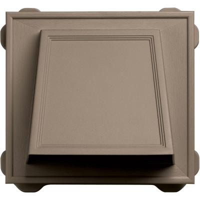 6 in. Hooded Siding Vent #095-Clay