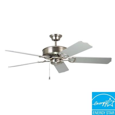 Excellence 52 in. Satin Nickel Ceiling Fan