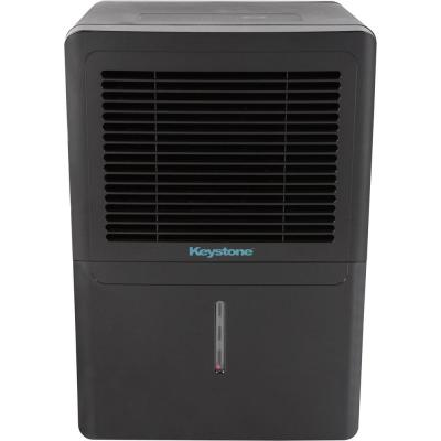Energy Star 70-Pint Dehumidifier in Black