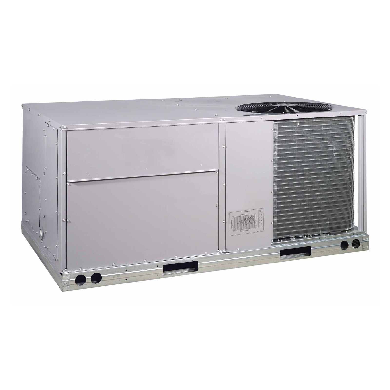 Tempstar RAX060K0CA0AAA - 5 Ton, 14.1 SEER, 12.0 EER, R410A Packaged Rooftop, 208-230V, 1 Phase, Medium Static Motor