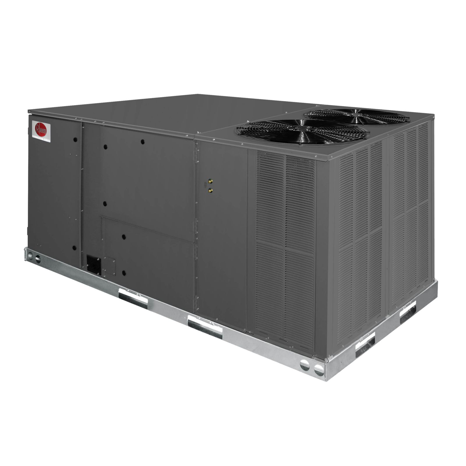 Rheem RJNL-C090DM000 - 7 1/2 Ton Package Heat Pump Unit, Clear Control, 460 V, 3 Ph, 60 Hz, Medium Static Belt Drive