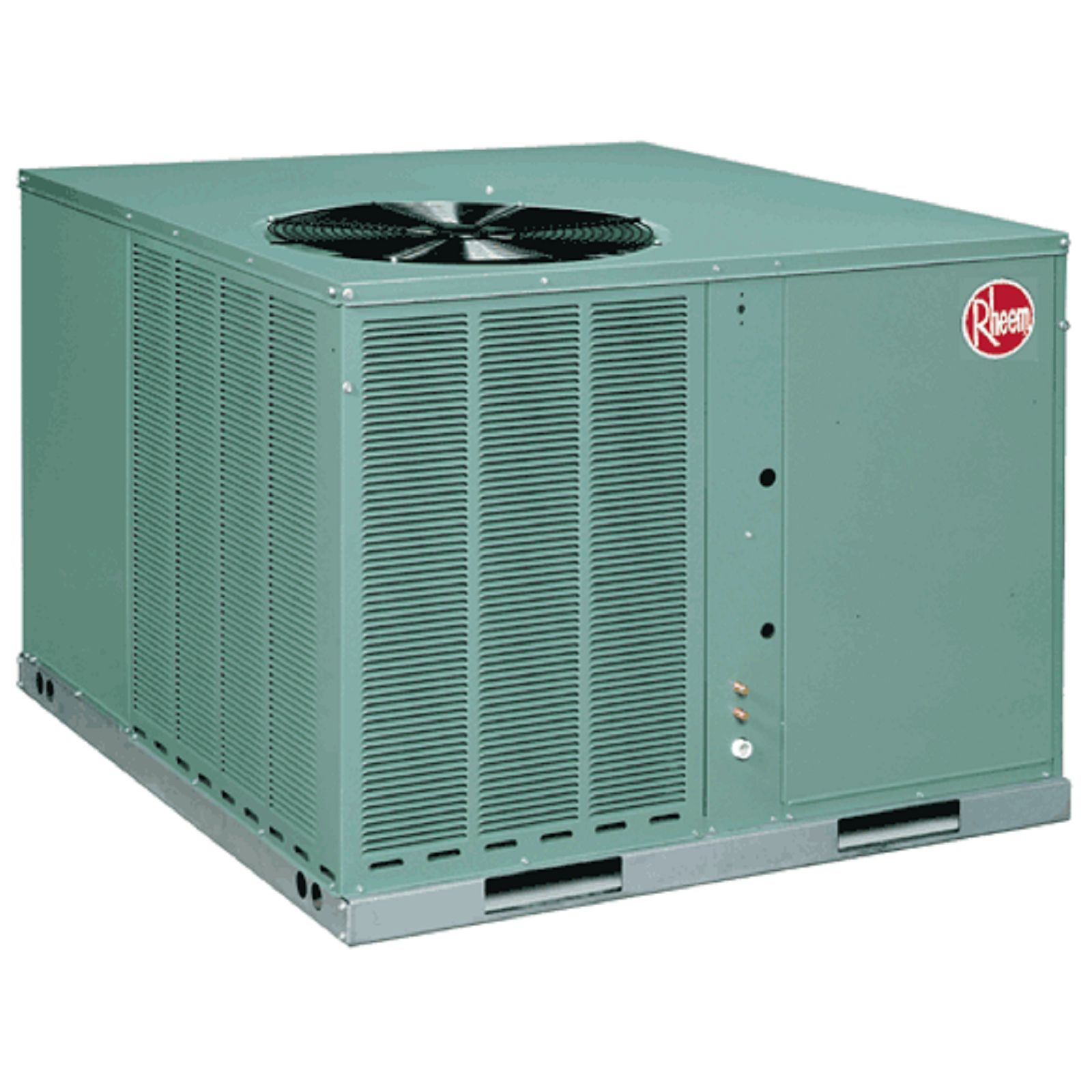 Rheem RQNA-B048JK000 - 4 Ton, 13 SEER, R22, Packaged Heat Pump 208-230 V, 1 Ph, 60 Hz