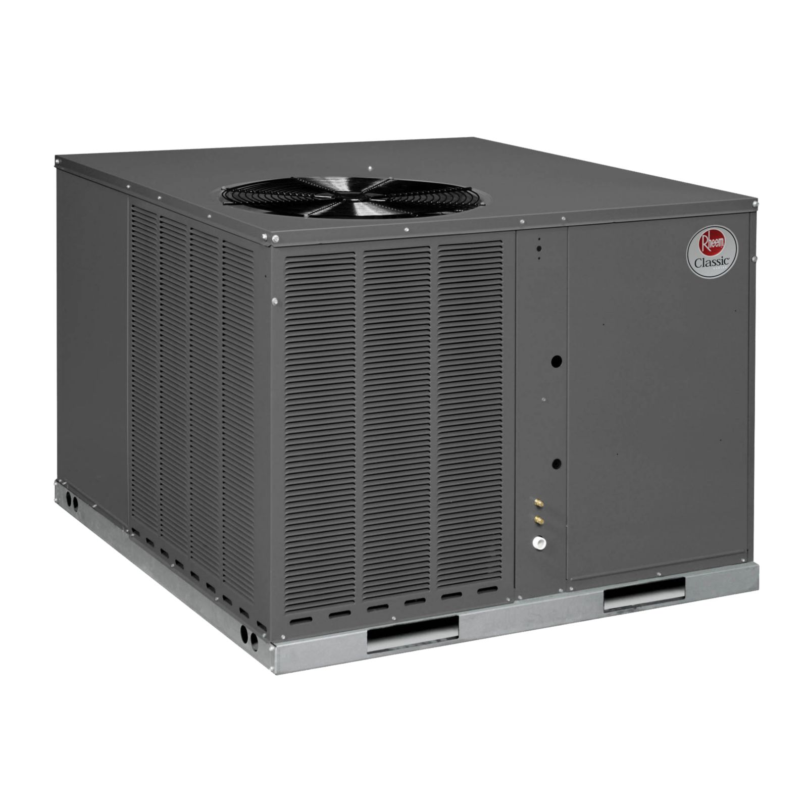 Rheem RQPL-B042JK000 - 3 1/2 Ton, 14 SEER, R410A, Packaged Heat Pump, 208-230 V, 1 Ph, 60 Hz