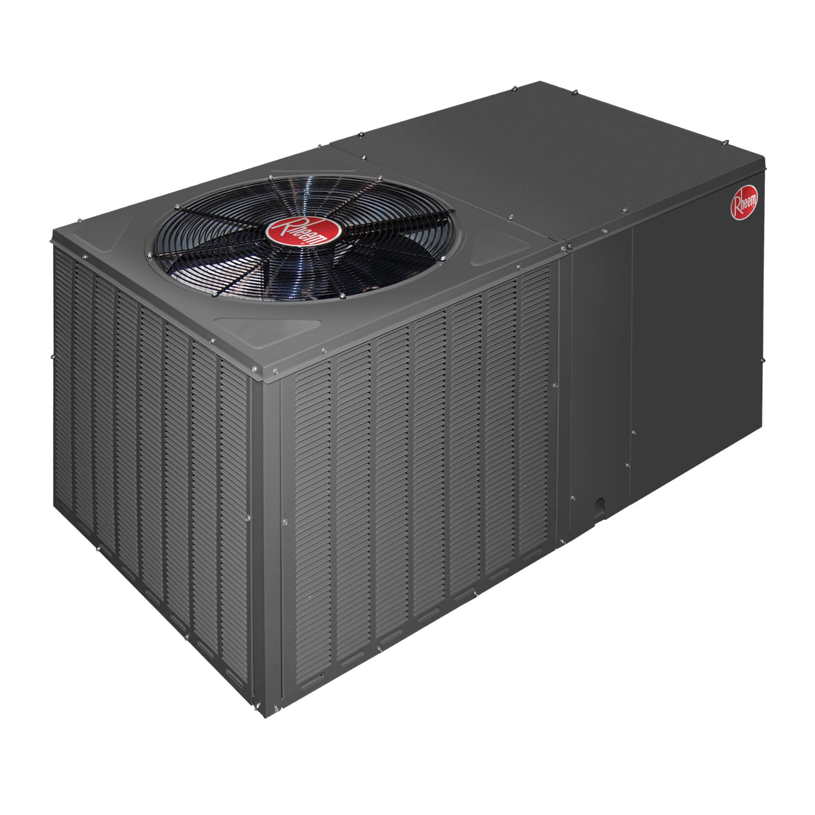 Rheem RQPM-A043JK000 - Classic 3 1/2 Ton, 14 SEER, Packaged Heat Pump With Horizontal Discharge, 208-230 V, 1 Ph, 60 Hz