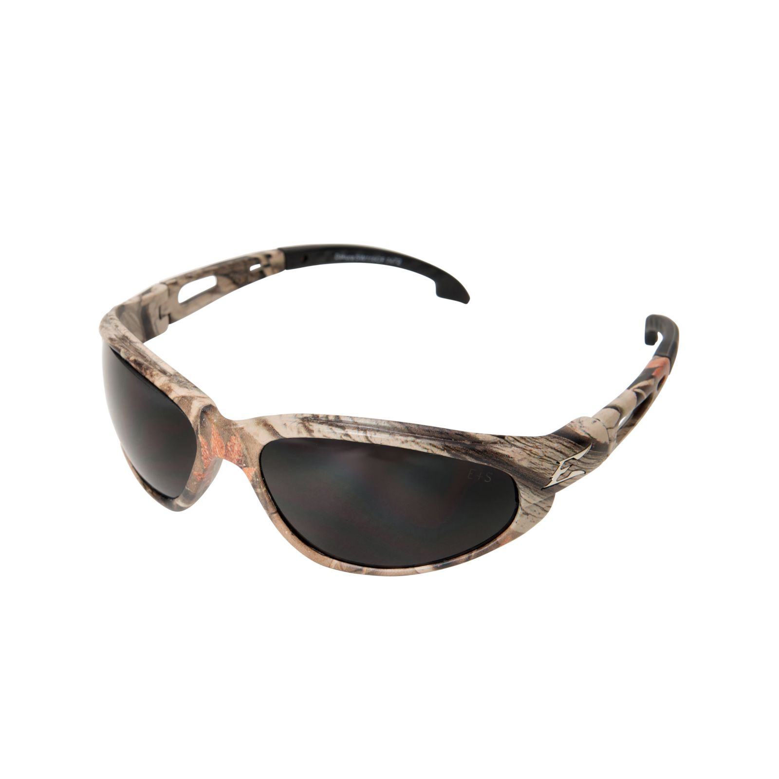 Wolf Peak International TSM216CF - Safety Glasses - Dakura - Forest Camouflage / Polarized Smoke Lens